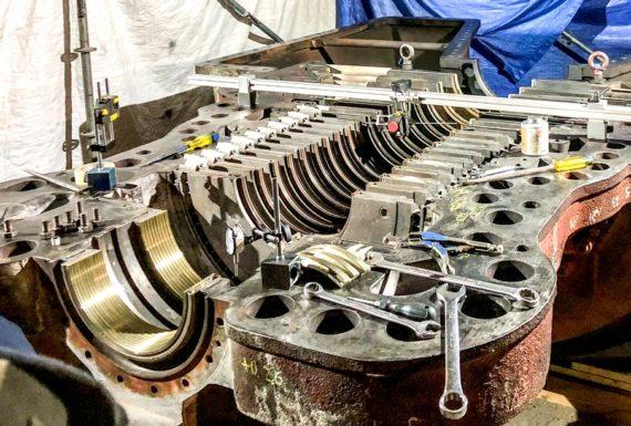 allineamento laser turbine a vapore (1)