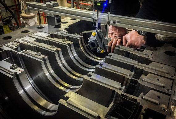 allineamento laser turbine a vapore (2)