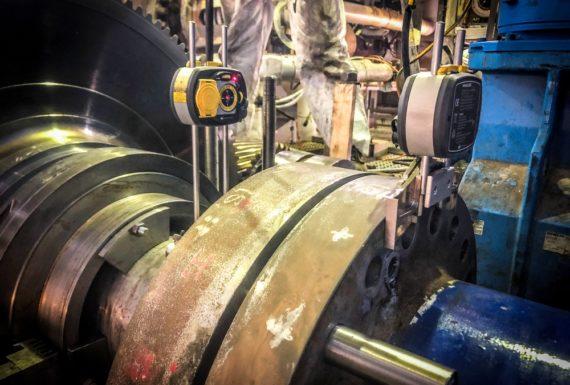 allineamento laser turbine a vapore (3)