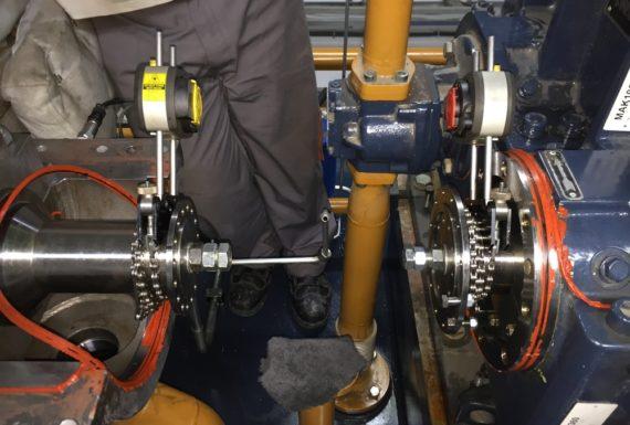 allineamento laser turbine a vapore (4)