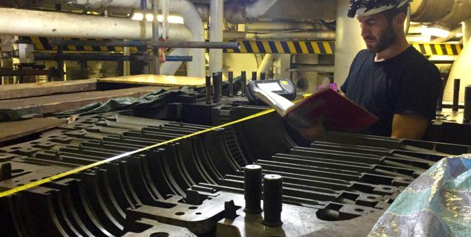 allineamento laser turbine a vapore (6)
